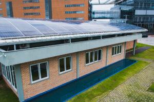 Laboratório Fotovoltaica da UFSC. Foto: Jair Quint/Agecom